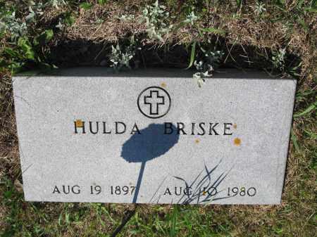 BRISKE 307, HULDA - LaMoure County, North Dakota | HULDA BRISKE 307 - North Dakota Gravestone Photos