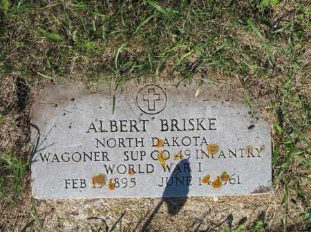 BRISKE 308, ALBERT - LaMoure County, North Dakota | ALBERT BRISKE 308 - North Dakota Gravestone Photos