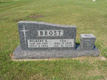 BROST 281, IDA - LaMoure County, North Dakota | IDA BROST 281 - North Dakota Gravestone Photos
