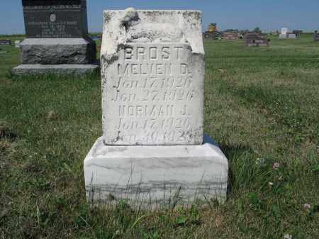 BROST 331, MELVEN D. - LaMoure County, North Dakota | MELVEN D. BROST 331 - North Dakota Gravestone Photos