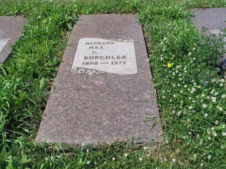 BUECHLER 461, MAX C. - LaMoure County, North Dakota   MAX C. BUECHLER 461 - North Dakota Gravestone Photos