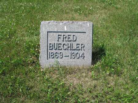 BUECHLER 585, FRED - LaMoure County, North Dakota | FRED BUECHLER 585 - North Dakota Gravestone Photos
