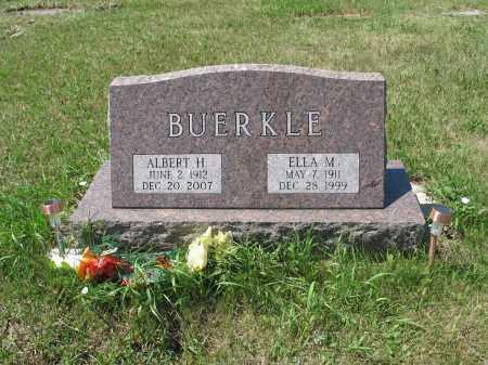 BUERKLE 535, ELLA MARIE - LaMoure County, North Dakota   ELLA MARIE BUERKLE 535 - North Dakota Gravestone Photos