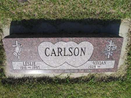 CARLSON 040, LESLIE H. - LaMoure County, North Dakota | LESLIE H. CARLSON 040 - North Dakota Gravestone Photos