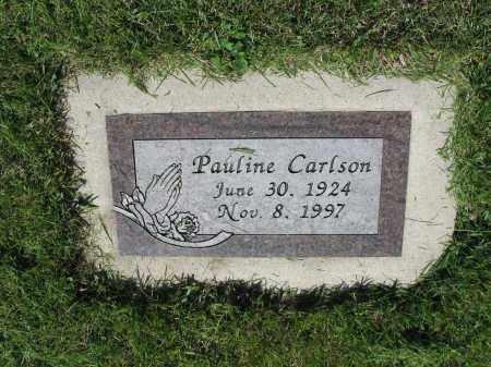 CARLSON 041, PAULINE - LaMoure County, North Dakota | PAULINE CARLSON 041 - North Dakota Gravestone Photos