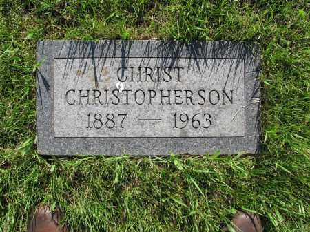 CHRISTOPHERSON 058, CHRIST - LaMoure County, North Dakota | CHRIST CHRISTOPHERSON 058 - North Dakota Gravestone Photos
