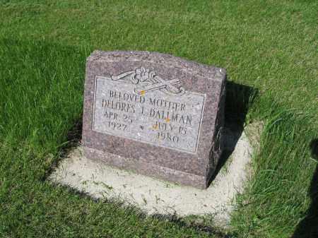 DALLMAN 010, DELORES J. - LaMoure County, North Dakota | DELORES J. DALLMAN 010 - North Dakota Gravestone Photos