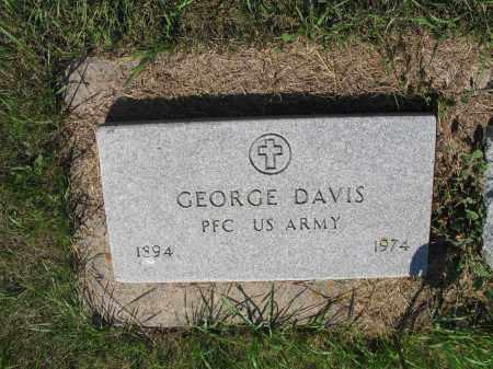 DAVIS 211, GEORGE - LaMoure County, North Dakota | GEORGE DAVIS 211 - North Dakota Gravestone Photos