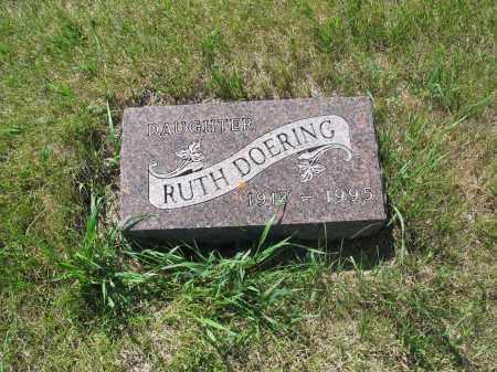 DOERING 031, RUTH E. - LaMoure County, North Dakota | RUTH E. DOERING 031 - North Dakota Gravestone Photos