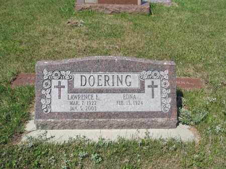DOERING 304, LAWRENCE EDWIN - LaMoure County, North Dakota | LAWRENCE EDWIN DOERING 304 - North Dakota Gravestone Photos