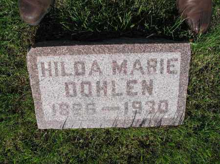 DOHLEN 011, HILDA MARIE - LaMoure County, North Dakota | HILDA MARIE DOHLEN 011 - North Dakota Gravestone Photos
