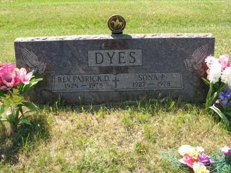 DYES 057, SONA P. - LaMoure County, North Dakota | SONA P. DYES 057 - North Dakota Gravestone Photos