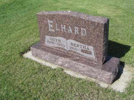 ELHARD 020, BERTHA - LaMoure County, North Dakota | BERTHA ELHARD 020 - North Dakota Gravestone Photos
