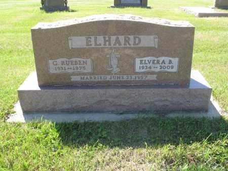 ELHARD 059, ELVERA B. - LaMoure County, North Dakota | ELVERA B. ELHARD 059 - North Dakota Gravestone Photos
