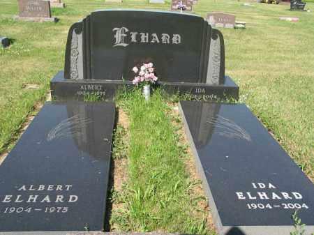 ELHARD 225, IDA P. - LaMoure County, North Dakota | IDA P. ELHARD 225 - North Dakota Gravestone Photos
