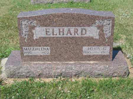 ELHARD 251, JOHN G. - LaMoure County, North Dakota | JOHN G. ELHARD 251 - North Dakota Gravestone Photos