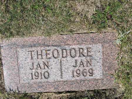 ELHARD 393, THEODORE - LaMoure County, North Dakota | THEODORE ELHARD 393 - North Dakota Gravestone Photos