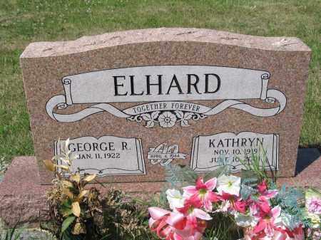ELHARD 395, KATHRYN - LaMoure County, North Dakota | KATHRYN ELHARD 395 - North Dakota Gravestone Photos
