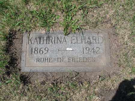 ELHARD 516, KATHRINA - LaMoure County, North Dakota | KATHRINA ELHARD 516 - North Dakota Gravestone Photos