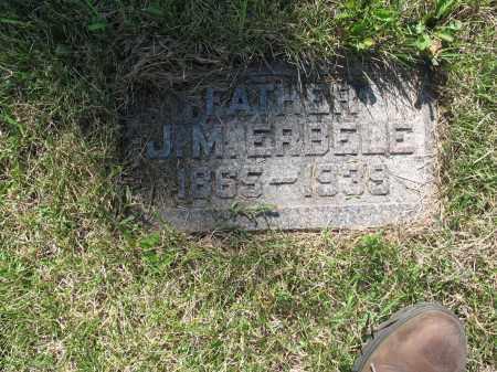 ERBELE 164, JOHANN MARTIN - LaMoure County, North Dakota | JOHANN MARTIN ERBELE 164 - North Dakota Gravestone Photos