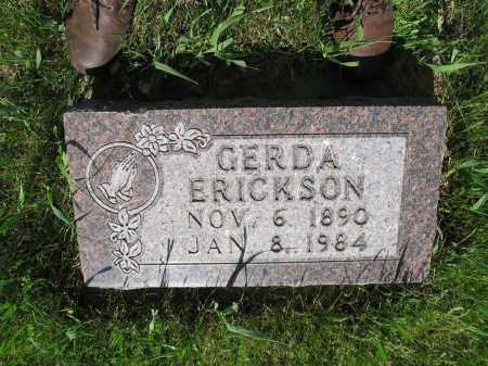 ERICKSON 013, GERDA - LaMoure County, North Dakota | GERDA ERICKSON 013 - North Dakota Gravestone Photos