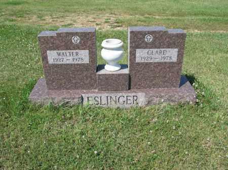 ESLINGER 322, CLARE - LaMoure County, North Dakota | CLARE ESLINGER 322 - North Dakota Gravestone Photos