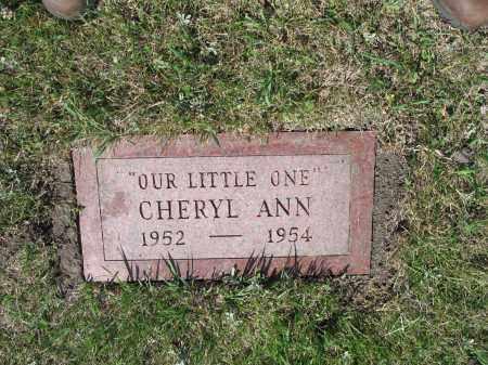 ESLINGER 323, CHERYL ANN - LaMoure County, North Dakota | CHERYL ANN ESLINGER 323 - North Dakota Gravestone Photos