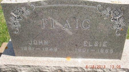 FLAIG, ELSIE - LaMoure County, North Dakota | ELSIE FLAIG - North Dakota Gravestone Photos