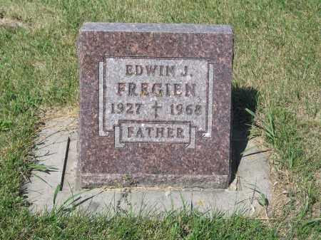 FREGIEN 261, EDWIN JOHANNES - LaMoure County, North Dakota | EDWIN JOHANNES FREGIEN 261 - North Dakota Gravestone Photos