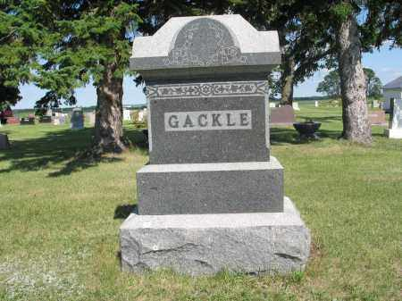GACKLE 111, FAMILY (GEORGE) MARKER - LaMoure County, North Dakota | FAMILY (GEORGE) MARKER GACKLE 111 - North Dakota Gravestone Photos