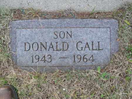 GALL 007, DONALD JOHN - LaMoure County, North Dakota | DONALD JOHN GALL 007 - North Dakota Gravestone Photos