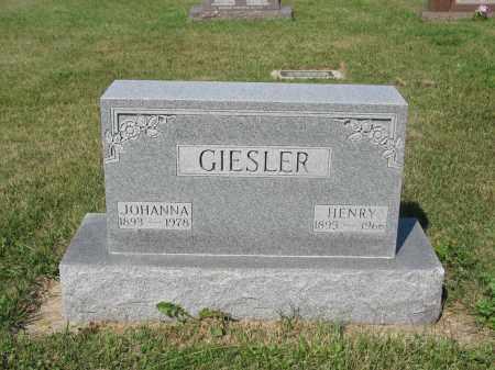 GIESLER 233, HENRY - LaMoure County, North Dakota | HENRY GIESLER 233 - North Dakota Gravestone Photos