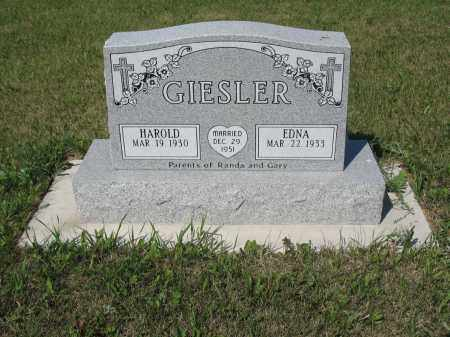 GIESLER 259, HAROLD - LaMoure County, North Dakota | HAROLD GIESLER 259 - North Dakota Gravestone Photos