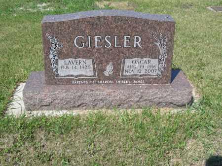 GIESLER 260, LAVERN - LaMoure County, North Dakota   LAVERN GIESLER 260 - North Dakota Gravestone Photos