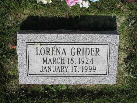 GRIDER 029, LORENA - LaMoure County, North Dakota | LORENA GRIDER 029 - North Dakota Gravestone Photos