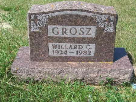 GROSZ 399, WILLARD C. - LaMoure County, North Dakota   WILLARD C. GROSZ 399 - North Dakota Gravestone Photos