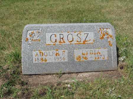 GROSZ 442, LYDIA - LaMoure County, North Dakota   LYDIA GROSZ 442 - North Dakota Gravestone Photos