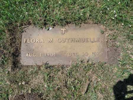 GUTHMUELLER 494, FLORA M. - LaMoure County, North Dakota | FLORA M. GUTHMUELLER 494 - North Dakota Gravestone Photos