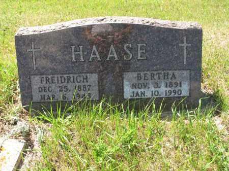 HAASE 025, BERTHA - LaMoure County, North Dakota | BERTHA HAASE 025 - North Dakota Gravestone Photos