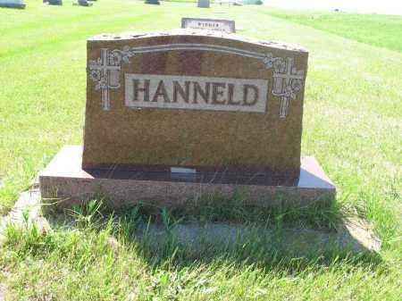 HANNELD 009, FAMILY (GOTTLIEB) MARKER - LaMoure County, North Dakota   FAMILY (GOTTLIEB) MARKER HANNELD 009 - North Dakota Gravestone Photos