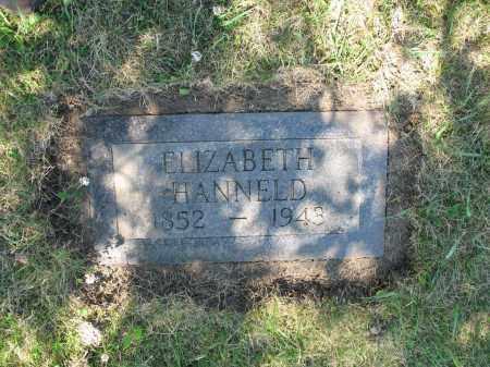 HANNELD 368, ELIZABETH - LaMoure County, North Dakota | ELIZABETH HANNELD 368 - North Dakota Gravestone Photos