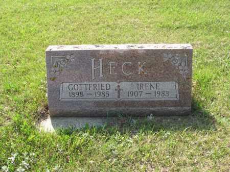 HECK 172, IRENE - LaMoure County, North Dakota | IRENE HECK 172 - North Dakota Gravestone Photos