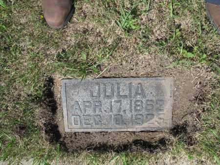 HEER 363, JULIA - LaMoure County, North Dakota | JULIA HEER 363 - North Dakota Gravestone Photos