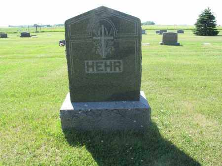 HEHR 090, FAMILY (CHRISTIAN) MARKER - LaMoure County, North Dakota | FAMILY (CHRISTIAN) MARKER HEHR 090 - North Dakota Gravestone Photos