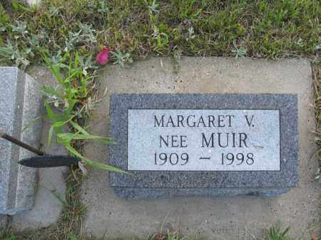 HERMAN 018, MARGARET V. - LaMoure County, North Dakota | MARGARET V. HERMAN 018 - North Dakota Gravestone Photos