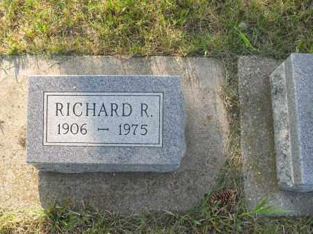 HERMAN 020, RICHARD R. - LaMoure County, North Dakota   RICHARD R. HERMAN 020 - North Dakota Gravestone Photos