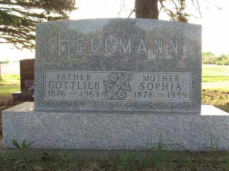 HERRMANN 023, GOTTLIEB - LaMoure County, North Dakota | GOTTLIEB HERRMANN 023 - North Dakota Gravestone Photos