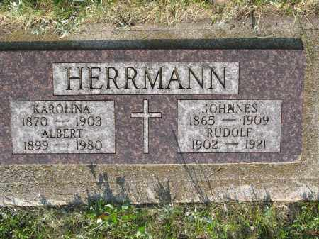 HERRMANN 026, ALBERT - LaMoure County, North Dakota | ALBERT HERRMANN 026 - North Dakota Gravestone Photos