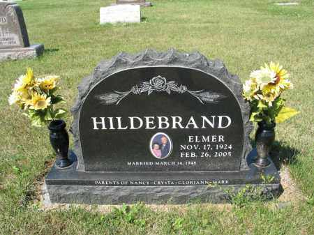 HILDEBRAND 345, ELMER - LaMoure County, North Dakota | ELMER HILDEBRAND 345 - North Dakota Gravestone Photos