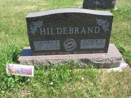 HILDEBRAND 556, CLIFFORD R. - LaMoure County, North Dakota | CLIFFORD R. HILDEBRAND 556 - North Dakota Gravestone Photos
